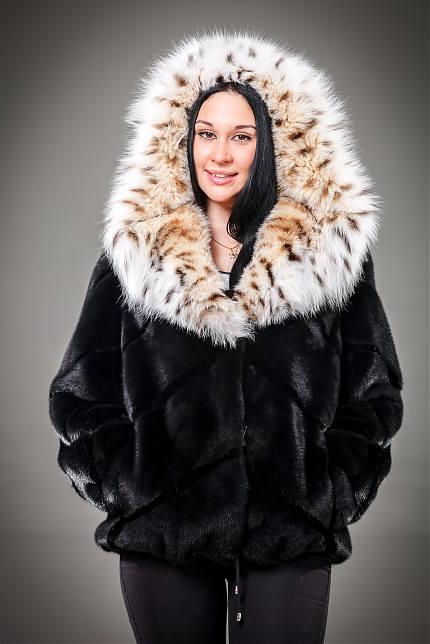 Норковая Куртка С Капюшоном Купить В Москве